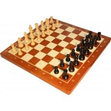Figury szachowe Staunton nr 5  German czarne - (S-24/cz)