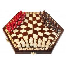 Szachy dla trójki graczy, małe ( S-60)