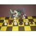 Figury szachowe Staunton nr 5 w worku (S-2)