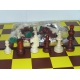 Figury szachowe Staunton nr 5/III w worku ( S-2/III )