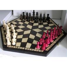 Szachy dla trójki graczy, duże ( S-62 )