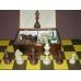 Figury szachowe Staunton nr 6  w kasetce (S-6)