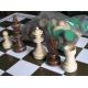 Figury szachowe Staunton nr 6 w worku orzechowe  ( S-6/orzech )