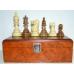 Figury szachowe American Staunton n6 w kasetce Exclusive egzotyczne drewno ( S-75/K)