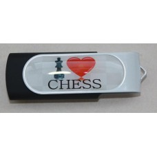 Pendrive I LOVE CHESS 16 GB ( A-57/2 )