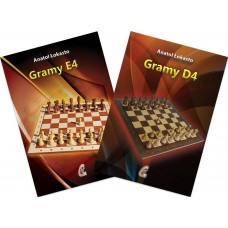 Zestaw 2 książek pt. Gramy 1.e4 i Gramy 1.d4 - A. Łokasto (K-5081/kpl)