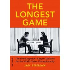 Jan Timman - The Longest Game The Five Kasparov – Karpov Matches for the World Chess Championship (K-5568)