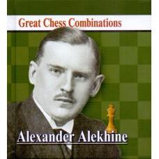 A. Kalinin -Alexander Alekhine - Great Chess Combinations - format kieszonkowy 9.5 x 9.5 cm (K-5730)