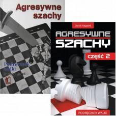 Jacob Aagaard - Agresywne szachy część 1 i 2 (K-3408/kpl)