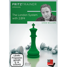 Simon Williams - The London System with 2.Bf4 ( P-0021 )