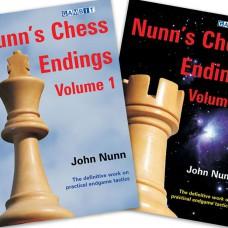 """Nunn J. """" Nunn's Chess endings 1 i 2 """" ( K-3366/set)"""