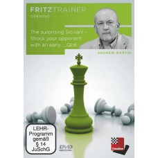 The surprising Sicilian - Shock your opponent with an early ...Qb6 - Andrew Martin (P-0040)