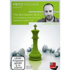 Lawrence Trent - The Bombastic Bird's - an energetic and exciting repertoire after 1.f4 (P-0060)