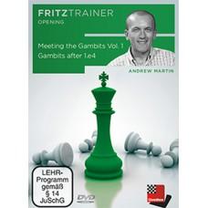 Meeting the Gambits część 1 - Gambits after 1.e4 by Andrew Martin - DVD (P-0011)