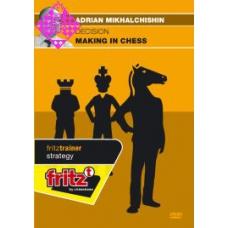 """""""Podejmowanie decyzji w partii szachów"""" autor: Adrian Mikhalcziszyn DVD( P-103)"""