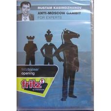 """Rustam Kasimdzhanov """"Anti-Moscow gambit for experts"""" ( P-393 )"""